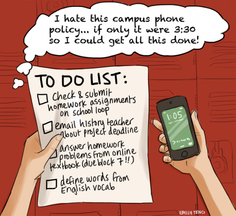 I hate this campus phone policy