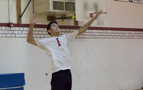 Varsity boys' volleyball falls to the Eagles on the way to the playoffs