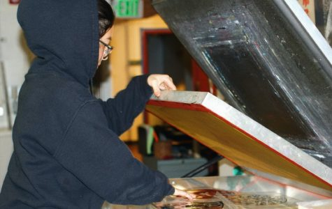 HIDDEN GEMS OF LOWELL HIGH: Senior printmaker Naomi Hawksley