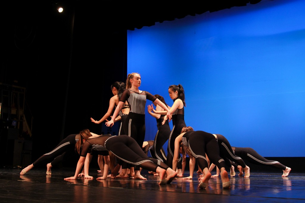 "Dance Company performs ""Running on Empty."""
