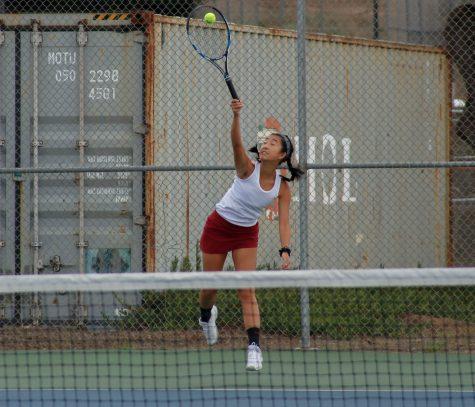 Vars girls tennis sustains their seven-game winning streak