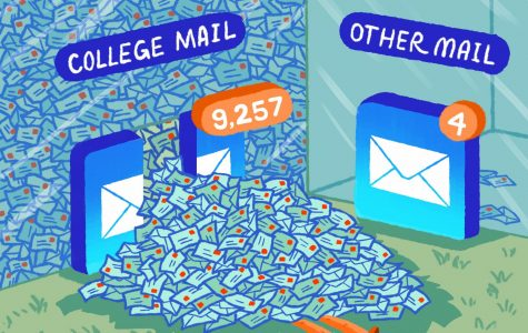 EDICARTOON: College mail can be overwhelming!