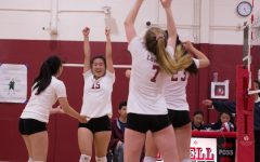 Vars girls volleyball falls short against the Lincoln Mustangs