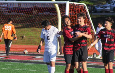 Boys soccer beats Leadership Griffins 2-0 in neck and neck match