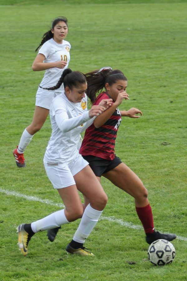 Senior co-captain and midfielder Camila Bodden scored the one and only goal of the game.