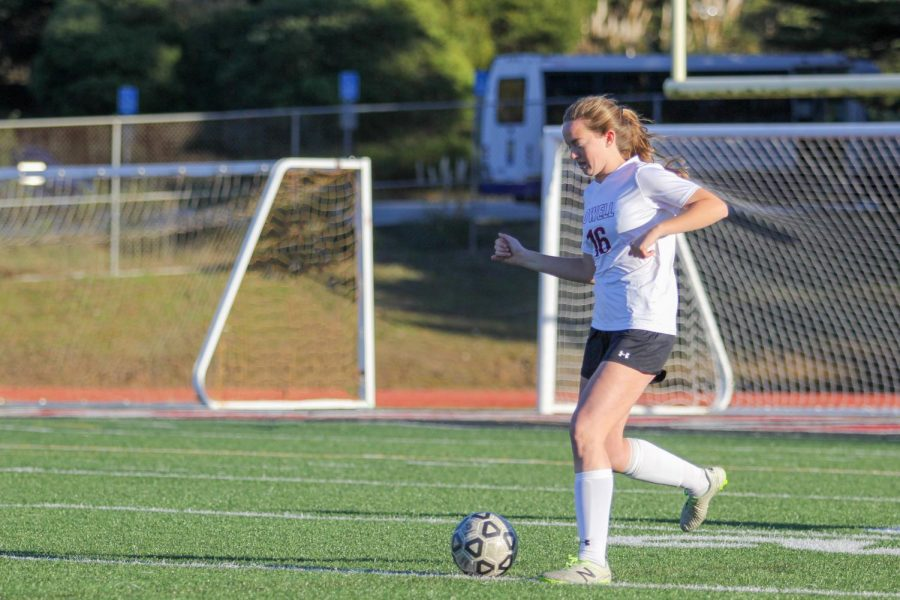 It's good to switch it up. Like [former head coach Eugene] Vrana did well for the past three years, but it's good to see a new face, new drills. Senior co-captain and defender Fiona Plunkett said.