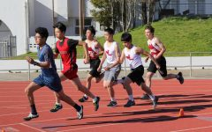 PHOTOS: Track team's first away league meet