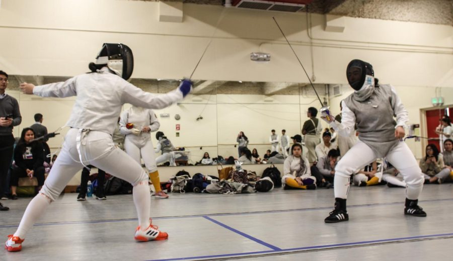 Lowell fencing dominates the Galileo Lions