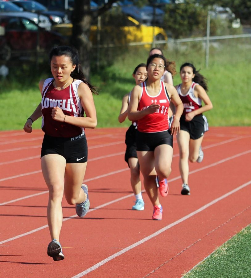Senior sprinter Kathleen Mai finished the 800m with a time of 2:51.78.