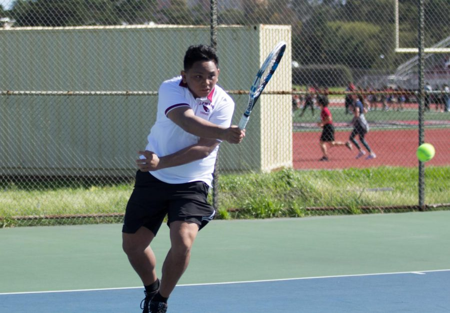 After beating the Wallenberg Bulldogs 7-0 at home on April 10, varsity boys tennis successfully maintains its spotless record of the season.