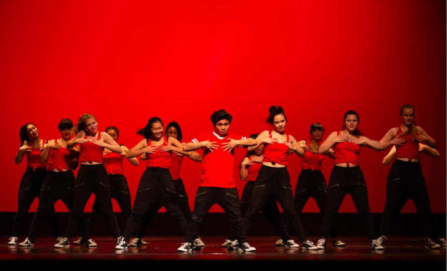 "PHOTOS:  Lowell dancers perform ""Encompass"""