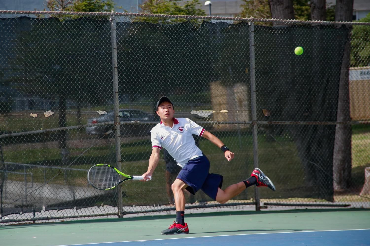 Senior Justin Pau faced off against Sheldon On from Balboa for the fourth year in a row.