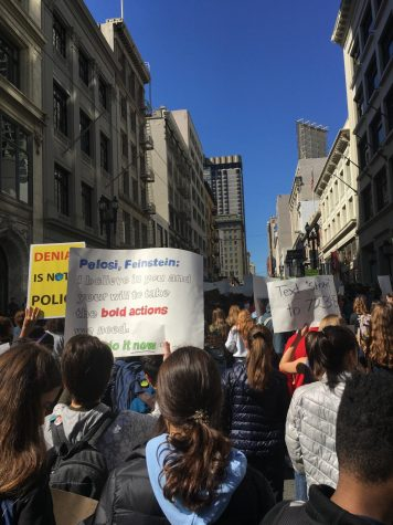 In March 2019, 25 students from Lowell risked an unexcused absence, marching downtown as part of the Global Climate Strike.