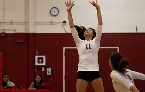 Varsity girls volleyball prevails over Lincoln to win city championship