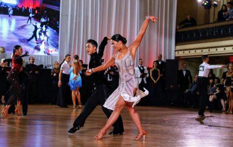 A ballroom dancing bond