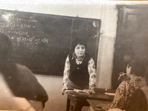 Karapetyan teaching in her hometown of Baku, Azerbaijan.