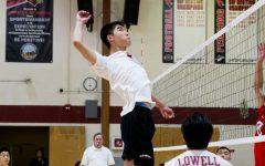 Boys' volleyball slams a victory against the Washington Eagles 3–1