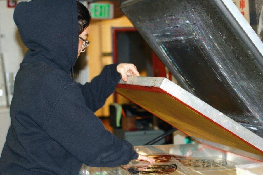 HIDDEN GEMS OF LOWELL HIGH: Senior printmaker Naomi Hawksley