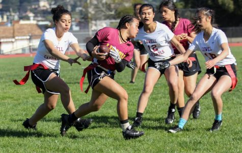 PHOTOS: Varsity girls flag football makes playoffs for the first time ever