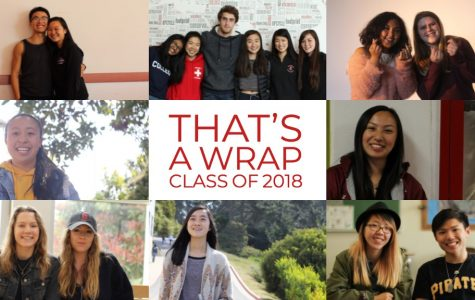 WATCH: That's a wrap — Class of 2018