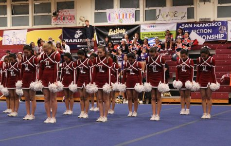 Cheer squad takes second at CIF SF Cheer Championships