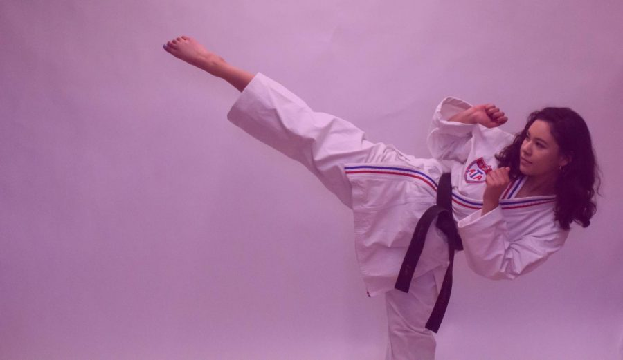 Junior reporter Kate Green talks about her experiences with taekwondo and how she doesn't fit the stereotypical schema of a martial artist.