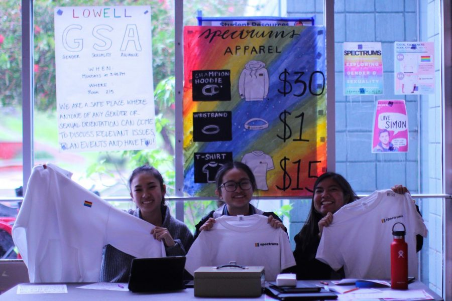 This year's Social Awareness Week collaborated with the Gender and Sexuality Association and sold merchandise in honor of the events.