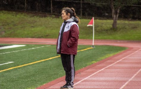 Amber Wilson was only an assistant coach for Lowell's varsity girls soccer team for one year before she became the head coach.