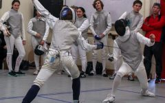 Undefeated: Fencing team ranked number one in the league