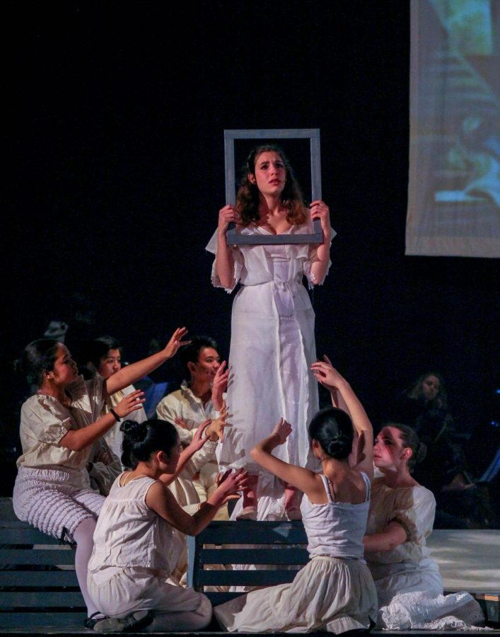 Junior Semra Vignaux, as Johanna, is locked away in Foggs Asylum.
