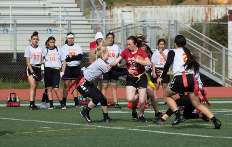 Vars flag football finishes with an 8-2 season record