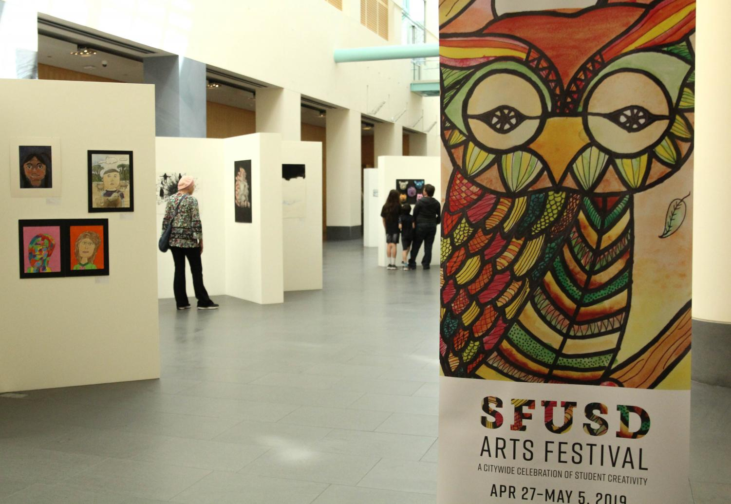 Several students were given awards for their submissions into the annual SFUSD Arts Festival. Four students share the meaning behind their piece and their experience in their artistic field.