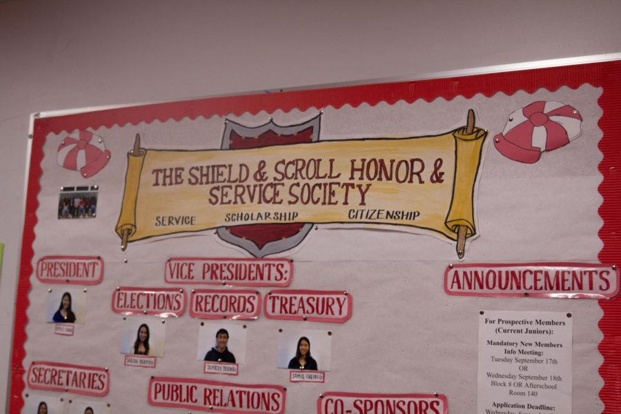 Shield and Scroll, founded in 1907, represents Lowell and its mission.