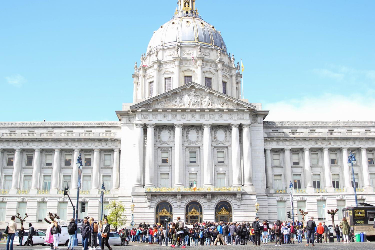 Students will be skipping school today in order to march to the San Francisco Federal Building as part of the Global Climate Strike.