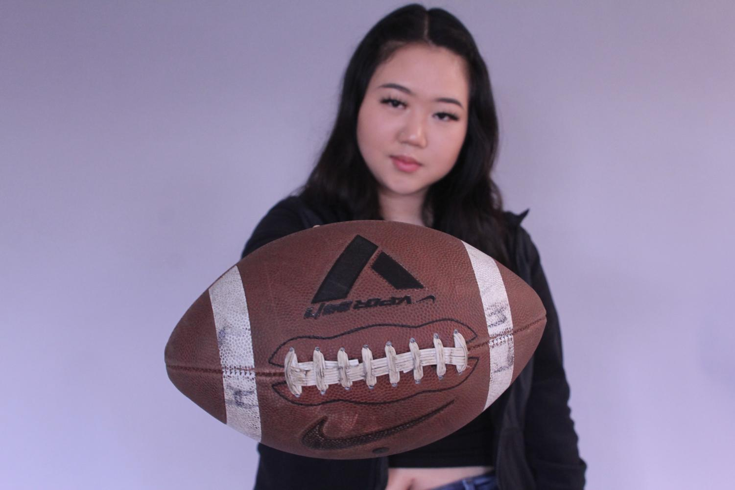 Cho shares that her two years on Lowell's football team has been life-changing.