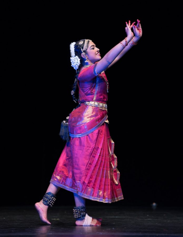 Kavi Rajalingam, a junior at Lowell, has been a student of Bharatanatyam since she was 4 years old.